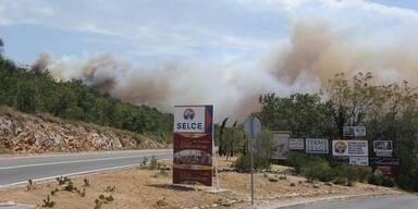 Brände in Kroatien