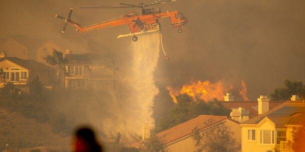 Höchste Alarmstufe in Kalifornien: Tausende fliehen vor Flammen