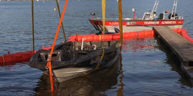 Motorboot explodiert: Drei Verletzte, darunter zwei Kinder