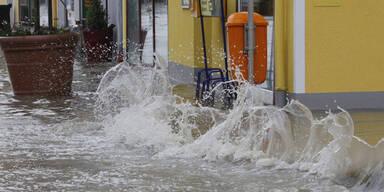 Lavamünd steht unter Wasser