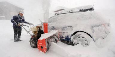 Schnee; Winter; Schneefräse