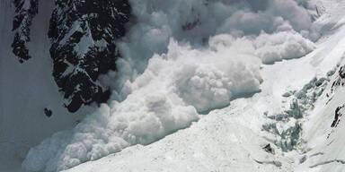 Lawinen-Drama: Skitourengeher tot geborgen