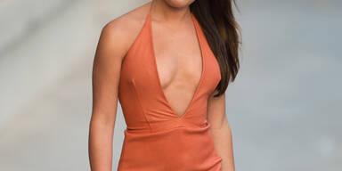 Lea Michele ließ bei Jimmy Kimmel tief blicken