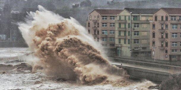 Monster-Taifun 'Lekima' wütet in China