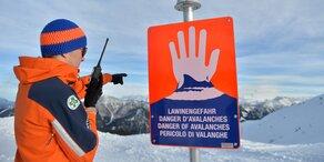 Lawinengefahr in den Alpen hoch