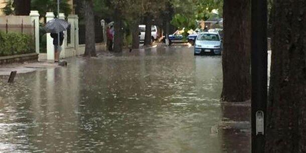 Überschwemmungen: Lignano steht unter Wasser