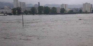 Hochwasser in Linz