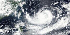 "Taifun ""Lionrock"" trifft Tsunami-Region"