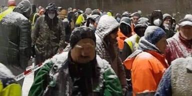 Dutzende Lkw-Fahrer an Tiroler Grenze gestrandet