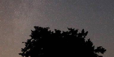 Sternschnuppen-Regen über Europa