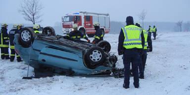 Unfall bei Maissau