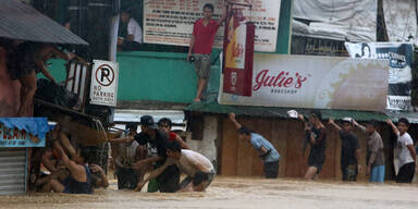 Monstermonsun auf den Philippinen