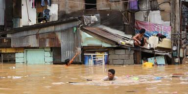 Überschwemmungen auf den Philippinen
