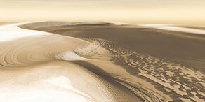 Mars: Forscher finden Belege für Eiszeit