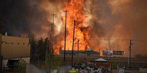 Waldbrände: 100.000-Einwohner-Stadt evakuiert
