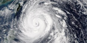 "Taifun ""Megi"" trifft Taiwan"