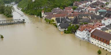 Überflutungen in der Wachau