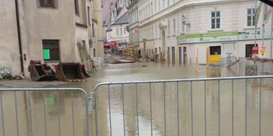 Hochwasser in Melk