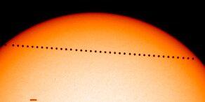 Mikro-Sonnenfinsternis am 9. Mai