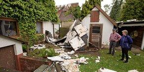 Tornado: Schäden in Ostwestfalen