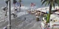 Mini-Tsunami trifft Urlaubsparadies Mallorca