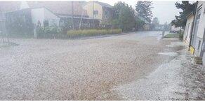Hagel und Überflutungen: Auch heute wieder Gewitter-Gefahr