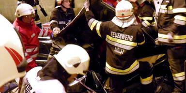 Unfall auf der A2 - Herzogbergtunnel