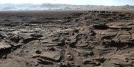 Mars-Rover schickt spektakuläres Panorama