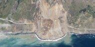 Mega-Erdrutsch verschüttet berühmten Highway 1