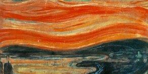 """Geheimnis um Wolken auf Munchs """"Schrei"""" gelüftet"""