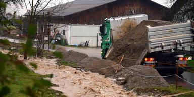 Überschwemmungen und Muren Kärnten