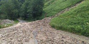 Unwetter: Almen im Pongau abgeschnitten