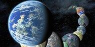 Forscher entdecken bewohnbare Planeten