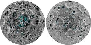 Erster Beweis für gefrorenes Wasser auf Mond