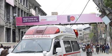 Schweres Beben in Nepal