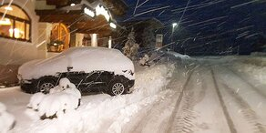 """Erster Schnee-Zauber dank kalter """"Danielle"""""""