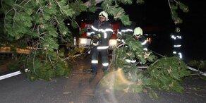Schwere Schäden: Sturmtief 'Yulia' fegte über Österreich