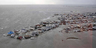 Schäden durch Hurrikan Sandy