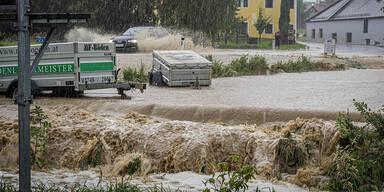 unwetter überflutung niederösterreich