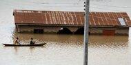 100 Tote bei Überschwemmungen in Nigeria