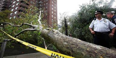 Hurrikan Irene in New York
