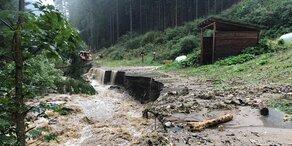 Unwetter: Gemeinde zum Katatstrophen-Gebiet erklärt
