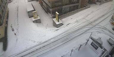 Schnee in Obertauern (Webcam)