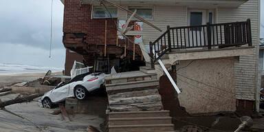 Hurrikan Sandy verwüstete New York