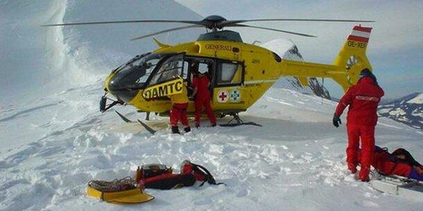 Gerettet: Bergsteiger muss 15.000 Euro zahlen