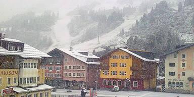 Schnee im August