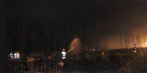 Waldbrand in Oberwart: Großeinsatz