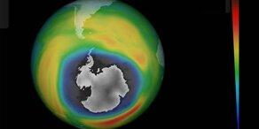 Überraschung: Ozonloch wird kleiner