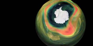 Ozonloch über Antarktis so groß wie nie