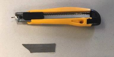 19-Jähriger attackiert Security mit Stanley-Messer